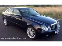 "STUNNING 57 plate Mercedes E220 cdi DIESEL auto EX CHAUFFEUR CAR 18"" alloys, leather, long mot MINT"