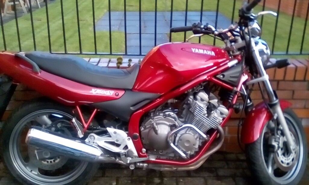 """YAMAHA XJ600,ONLY 3700,MILES ,""""IMMACULATE""""MAY PART EXCHANGE,ADVENTURE TYPE BIKE,KLE,GS,ETC,W.H.Y.ask"""