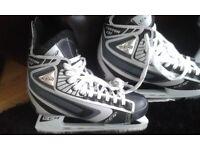 2 x Pairs of Ice/hockey skates from Canada Size 10 & 5