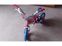 Boys blue chuggington bike