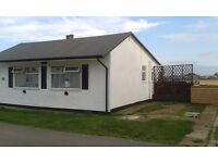 Bridlington Holiday Let, South Shore chalet with sea view