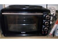 VONSHEF 26LT MINI ELECTRIC OVEN/GRILL AND HOB
