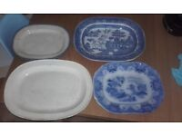 Very old large plates