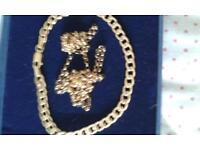 chain plus bracelet
