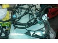 Honda B16 engine side wiring loom