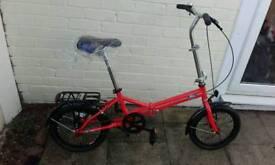 Brand new ford folding bike red