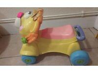 Lion 2in1 ride on/walker nr7