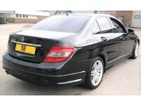 CHEAP 08 MERCEDES C220 SPORT CDI DIESEL AUTO 3 OWNERS SERVICE HISTORY A3 GOLF BMW OCTAVIA A4 LEON