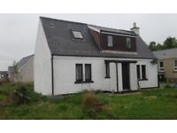 detached 3 bedroom hebridean cottage,
