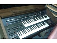 Farfisa dual keyboard organ
