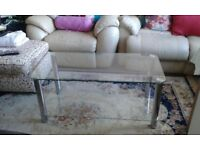 Recliner Sofa Chairs and table 60pounds only URGENT SALE!
