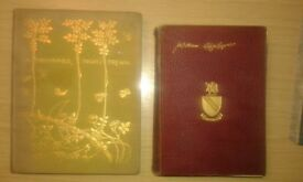 SHAKESPEARE, 1895, 1923 COMPLETE WORKS & MSND