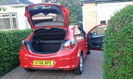 vauxhall astra sxi 1.6 petrol 3 door coupe red.