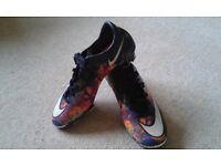 Nike Mercurial CR7's, size UK 6
