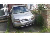 DAEWOO KALOS ,LOW MILES , VERY CHEAP , LOW PRICE , ABSOLUTE BARGAIN !!!!