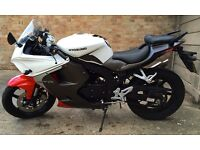 2015 Hyosung GT 125 RC GT125RC White Low Mileage Looks Great Comfortable Rides