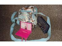 Girl's bag and purse
