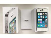 New Cond Unlocked Boxed Apple IPhone 4 in White Sim Free Fully working with box not 4S