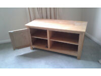 Solid wood unit for TV / dvd / blu ray / sky box etc