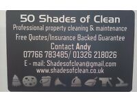 50 Shades of Clean Professional property maintenance