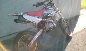 Race 140 pit bike and 50cc quad bike