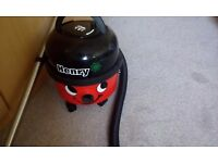 Henry vacuum cleaner. As new. Tools still in bag