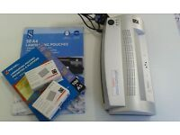 Laminator and Laminating Pouches