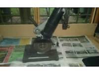 Disc stand.disc cutter