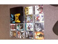 Sony PlayStation 3 120GB with 12Games