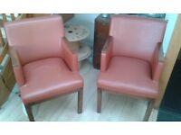 Vintage / retro arm chairs x 2