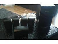 Panasonic 5 speakers plus sub woofer