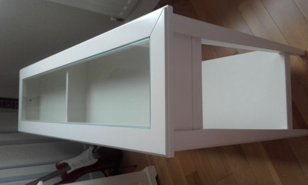 Ikea Liatorp Console Table white gloss with glass top  : 86 from www.gumtree.com size 1024 x 614 jpeg 38kB