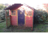 WENDY HOUSE/HUT, SMALL GARDEN SHED