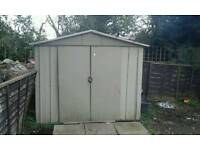 10x8 metal shed