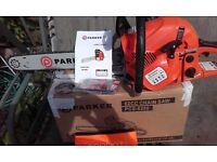 62cc Parker petrol chainsaw £75