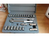 Socket Set Draper (24 Piece)