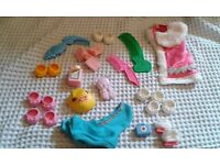 Large Bundle of My Little Pony (G1) Accessories.