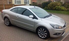 Ford Focus 2.0 CC2 Convertible 58 Plate