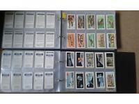HUGE AMOUNT OF BROOKE BOND TEA CARDS (SETS, SPARES, ALBUMS)