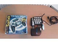 Saitek Gaming Keypad And Gamepad Bundle
