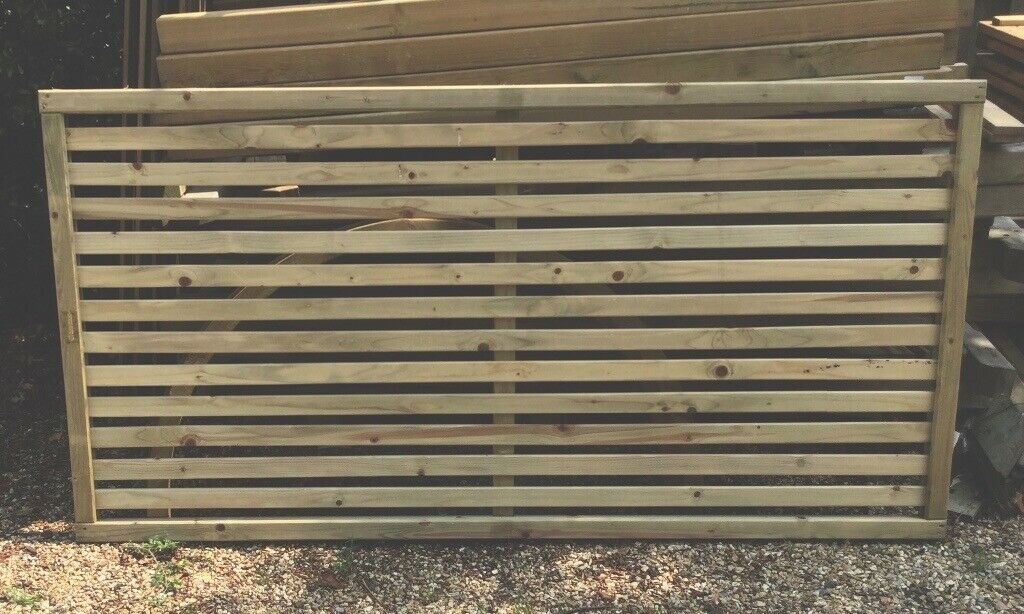 6 X 3 Slatted Fence Panels Tanalised New Available Immediately In Tarporley Cheshire Gumtree