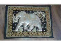 Stunning elephant wall hanging bought in Nepal