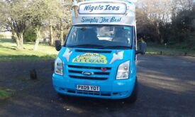 Ford ice cream van good condition