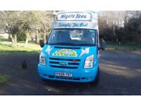Ford ice cream van good condition