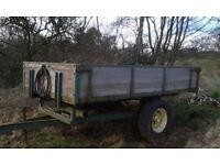 Weeks tipping trailer