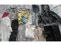 Selection of Boys clothes