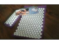 Bed & pillow nails pressure mat