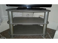GREY TV stand V.GOOD condition
