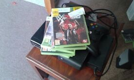 Xbox 360 with fifa 16, bop3 and more games swap for a phone or 70£ negotiable