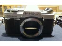 Vintage Minolta film camara